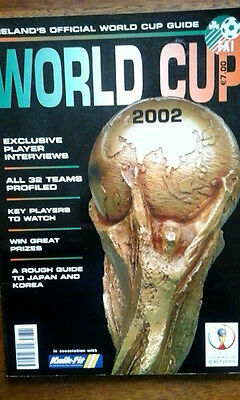 2002 Fa Of Ireland World Cup Brochure