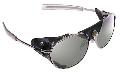 Tactical Aviator Style Sunglasses w/Wind Guards Smoke Tint Lenses Rothco 20380