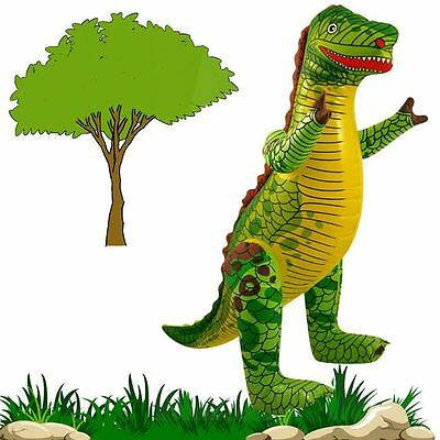 76,43CM Dinosaur Inflatable Kids Toy Birthday Party Blow-up Fancy Dress Hen/Stag