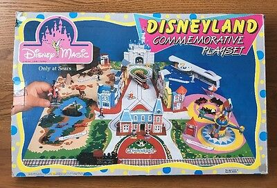 Disneyland Commemorative Playset Sears Disney Magic Kingdom-1988-VINTAGE-NM
