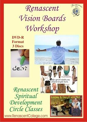 VISION BOARDS Correspondence Course Workshop Distance Study Manifest Abundance