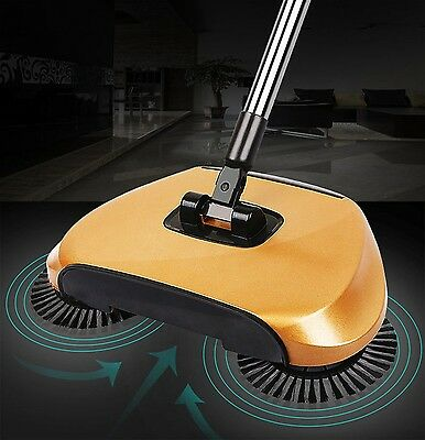 Magic Broom Sweeping Machine Without Electricity Push Type Household Set New