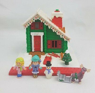 Polly Pocket Musical Holiday Chalet 100% Complete 1993 Excellent condition