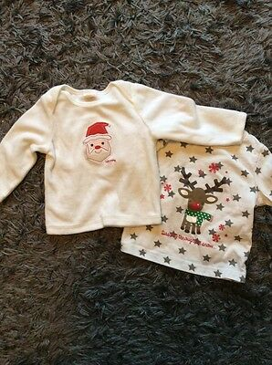 Unisex Christmas Tops 6-9 Months