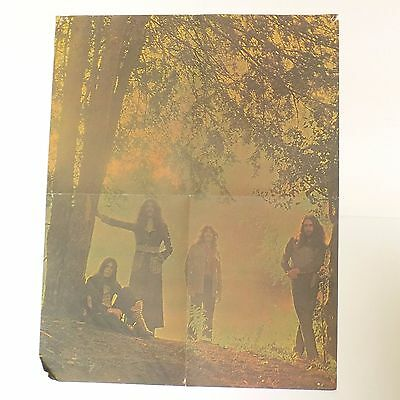"Masters Of Reality Black Sabbath LP Music Poster Rock Band Ozzy 23"" X 18"""
