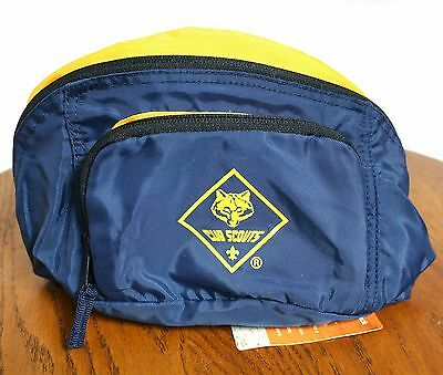 Cub Scouts Fanny Pack Boy Scouts Of America Waist Pouch Outdoor Hiking Bag NEW