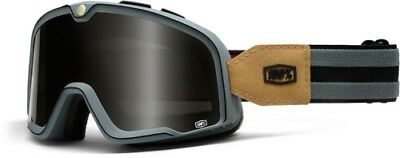100% BARSTOW LEGEND GOGGLES GRAY/GRAY Primer Gray Solid 50001-021-02 95-1001