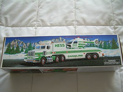Hess Toy Truck and Hellicopter from 1995