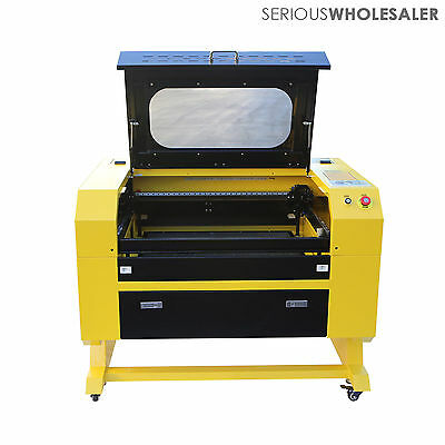 60W CO2 Laser Engraving Cutting Machine Engraver Cutter USB Port New