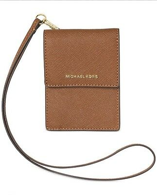 Michael Kors Luggage Lanyard Card Id Holder Case New