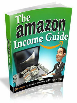 The Amazon Income Guide PDF eBook With PLR /MRR!  Free Shipping!