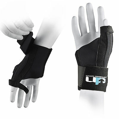 UP Ultimate One Size Bi-Lateral Professional Thumb Splint Spica Support Guard