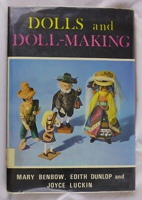 Vtg 1968 Dolls and Doll-Making Guys and Dolls and How to Make Them Great Britain