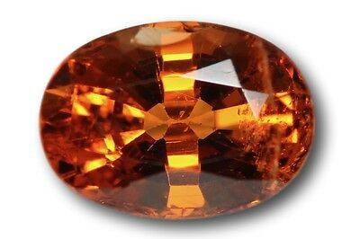 Grenat Spessartine Fanta naturel 1.09 carat orange