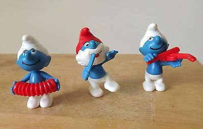 Kinder Ferrero Smurfs Music Figures Collectibles