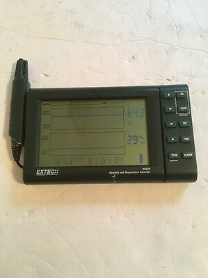 Used Extech Model RH520 Humidity and Temperature Recorder