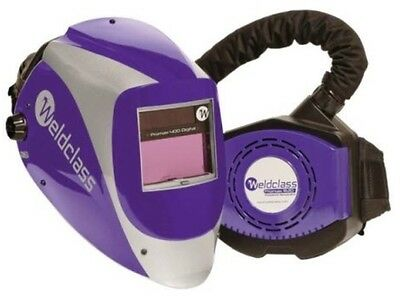 Weldclass Air Fed Welding Helmet - Promax400R DISCOUNTED TO CLEAR