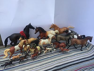 Lot of 21 Breyer Horses - Incl. Seattle Slew, Spirit, Seabiscuit!