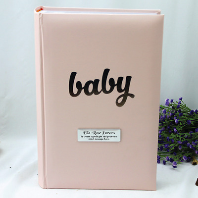 Personalised 'Baby' Girl Album - 300 - Add a Name & Message