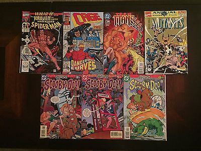 Assortment of Marvel and DC comics Vintage Lot: 7 ALL NEW!!!!