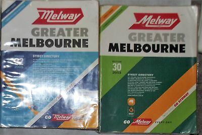 2 Melway Street Directory Edition 30 & 32 VGC 2003 & 2005