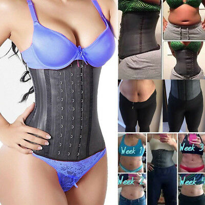 Fajas Reductoras Colombianas Latex Sport Shaper Shapewear Waist Cincher Trainers