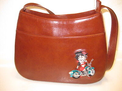NOS Betty Boop Purse Embroidered Vintage