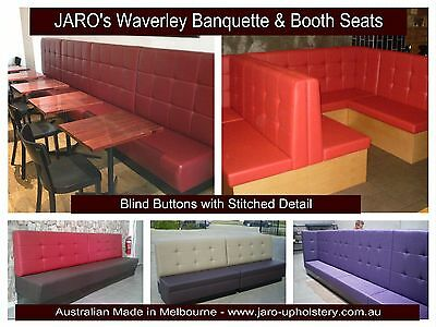 Restaurant, Cafe, Hotel, Waiting Chairs, Waverley Diner Booth & Banquette Seats