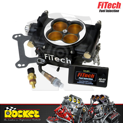 FiTech Go EFI 8 1200HP Power Adder Fuel Injection System (Black) - FH30012