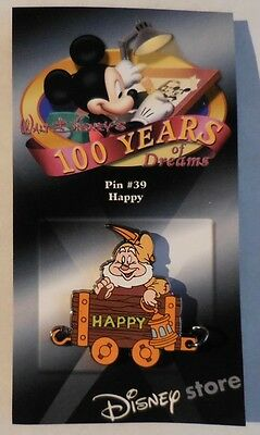 Disney Pin DS 100 Years of Dreams #39 Happy 1937 New LE