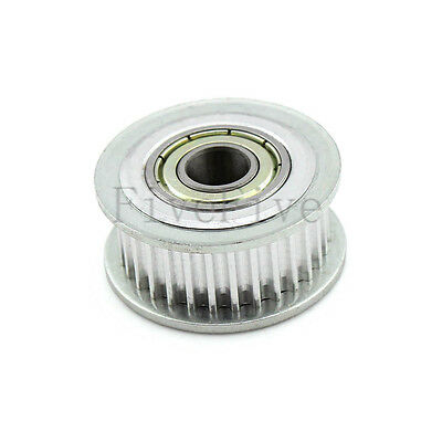HTD3M 3M-30T-11 3mm Pitch 7/8/10mm Bore Timing Belt Idler Pulley With Bearing