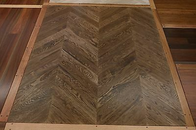 GENUINE European Oak Parquetry Flooring 450x90x18mm SOLID TIMBER SELECT GRADE