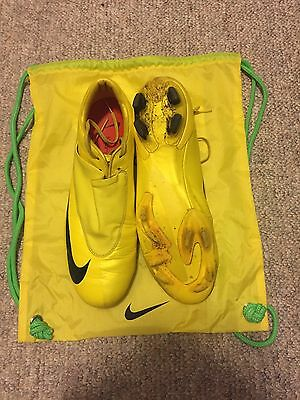 Nike Mercurial Vapor v Superfly Elite FG 11 US Iii Iv Vibrant Yellow