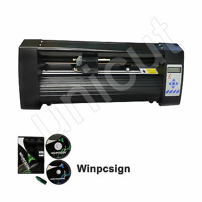 New 14'' Contour Cutting Best Value Red Dot Vinyl Cutting Plotter * Winpcsign