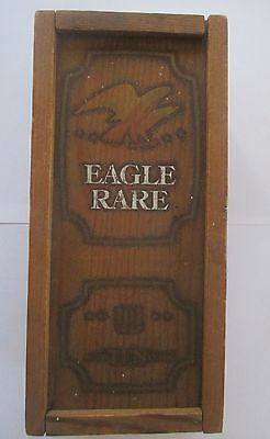 Eagle Rare Kentucky Straight Bourbon Whiskey Wooden Box Vintage
