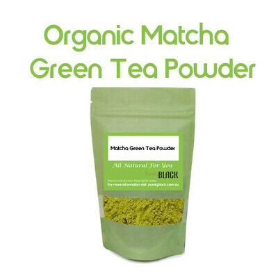 Certified Organic Matcha Green Tea Powder Premium Quality Herb  Herbs Herbal