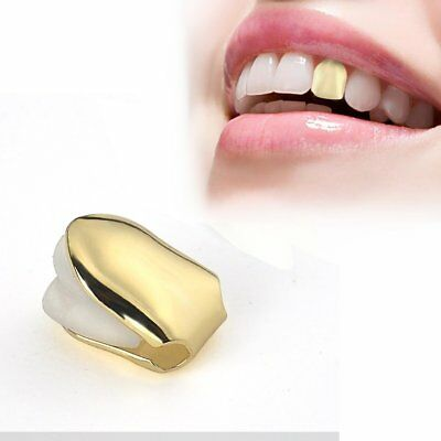 Cool Custom Silver Plated Small Single Tooth Cap Hip Hop Teeth