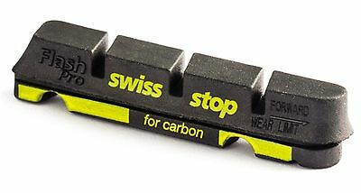 SwissStop Flash Pro Black Prince brake pads, fits Shimano Sram for carbon rims