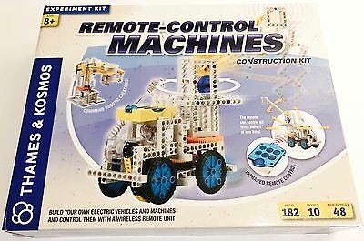Thames & Kosmos Remote Control Machines Construction Kit Experiment Kit OPEN BOX