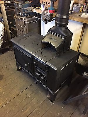 Antique Cast Iron Range