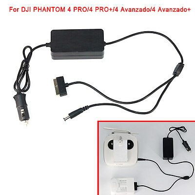 6A Car Charger Suitable for Phantom 4/ 4 PRO/ 4 PRO+/ 4 Advanced/ 4 Advanced+