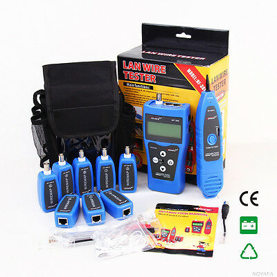AU Ship NF388 Network Ethernet LAN Phone Tester Wire Tracker USB Cable Large LCD