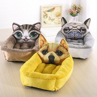 Small Dog House 3D printing Comfort kennel Soft Washable puppy Pet Nest Bed