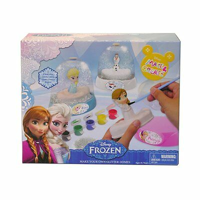 Disney Make & Create - Disney Frozen Make Your Own Glitter Domes