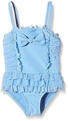 Angels Face Hollywood Bathing Suit, Nuoto Bambina, Blu (Bluebell), 3 Anni (N1p)