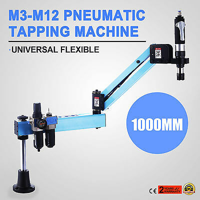 Vertical Type Pneumatic Air Tapping & Drilling Machine M3-M12 1000mm Fast
