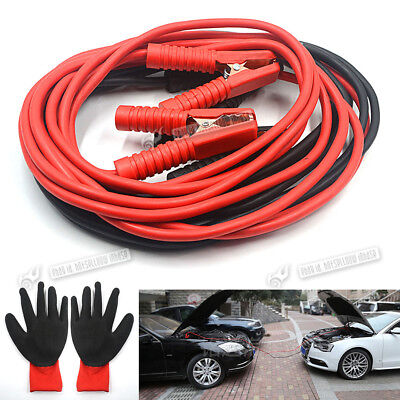 1200AMP Heavy Duty Battery Jump Start Leads 6 Metres LONG Booster Cables Car Van
