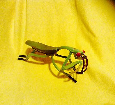 "8"" RARE 1994 SMITHSONIAN Giant Green Praying Mantis Realstic Insect Bug Figure"