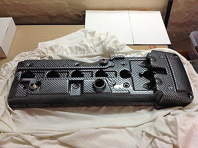 Ford Falcon Ba Bf Fpv F6 Xr6 Turbo Rocker Cover Carbon Fibre Dipped -10An