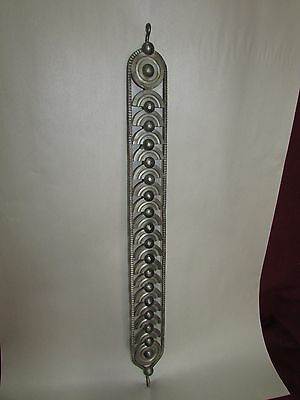 Art Deco Style Industrial Design Sculpture Hardware Panel Stainless Steel
